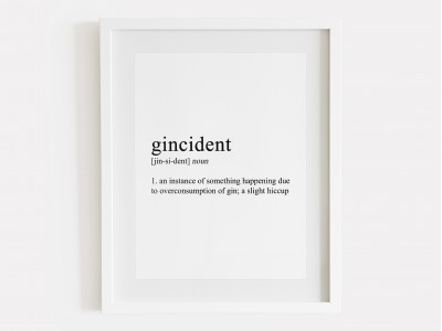 Gincident Definition Print