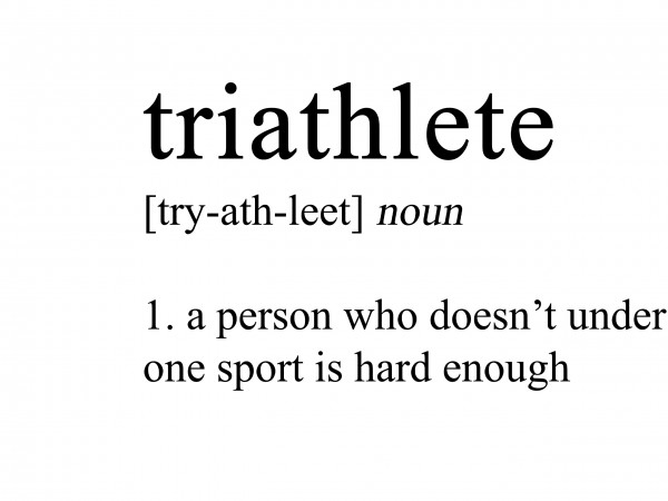 Triathlete Definition Print