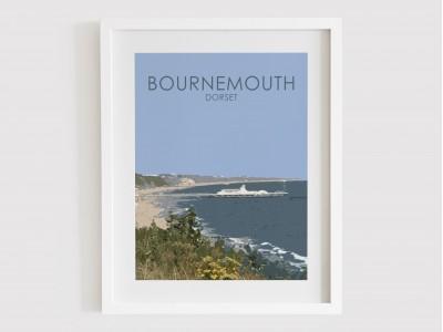 Bournemouth Pier Print