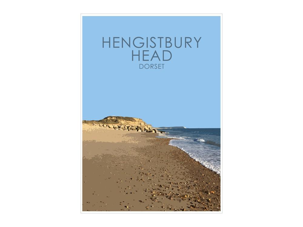 Hengistbury Head Print