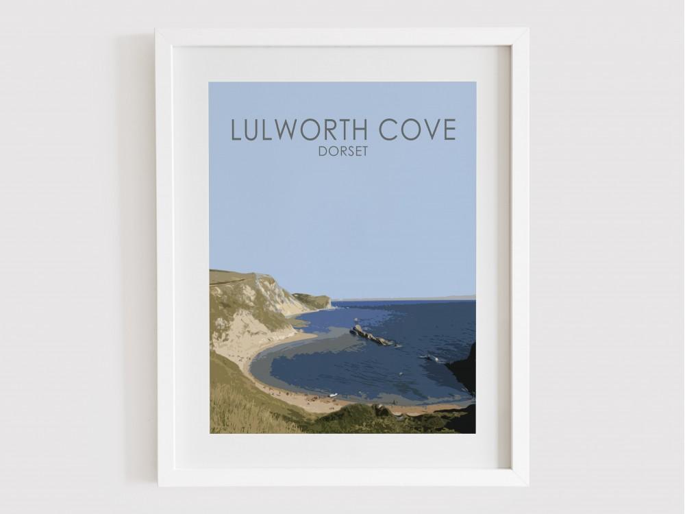 Lulworth Cove Print