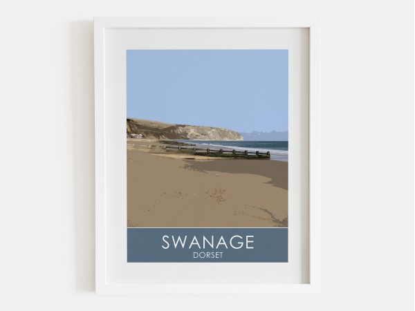 Swanage Bay Print