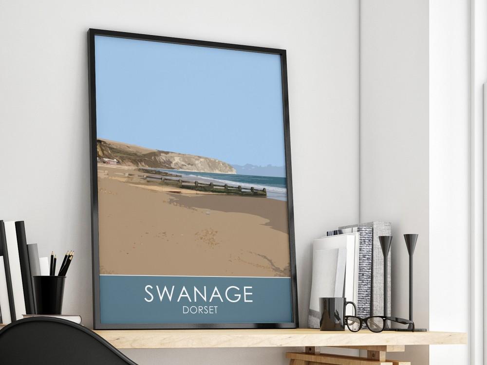 Swanage Bay Print