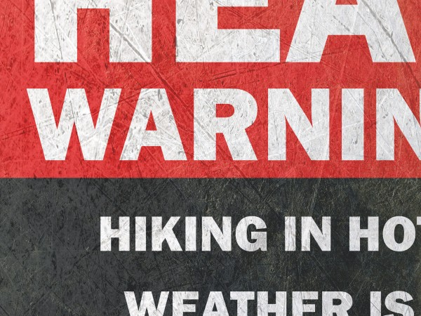 Heat Warning Print