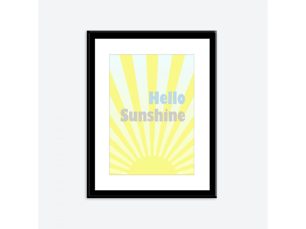 Hello Sunshine Poster Print