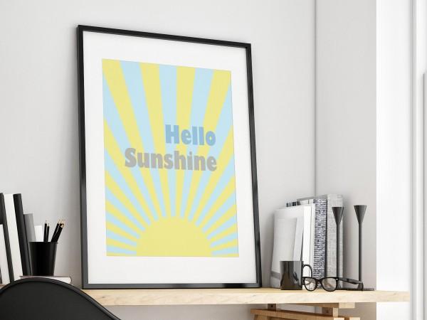 Hello Sunshine Print