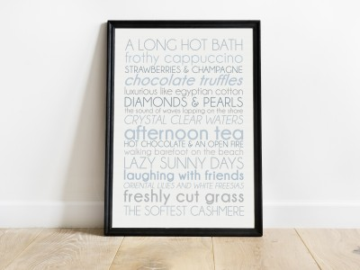 Those Special Things Poster Print