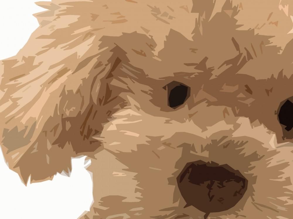 Puppy Dog Art Print