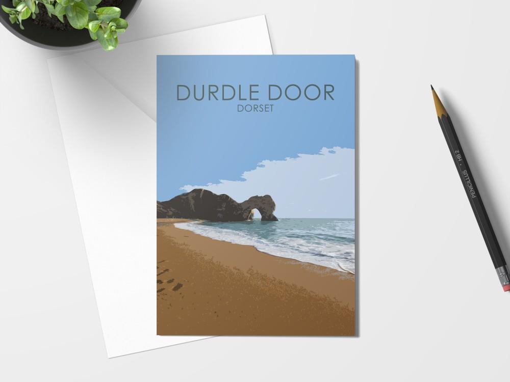 Durdle Door Card