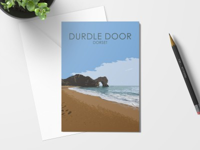 Durdle Door Card