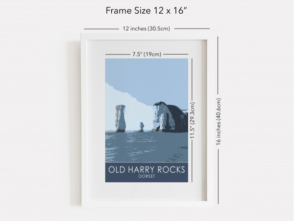 """12 x 16"""" Painted Wooden Frame"""