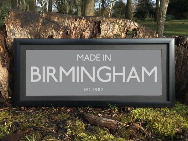 Made in Birmingham Print