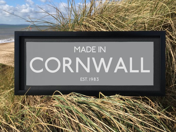 Made in Cornwall Print