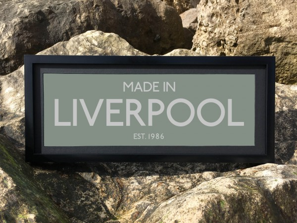 Made in Liverpool Print