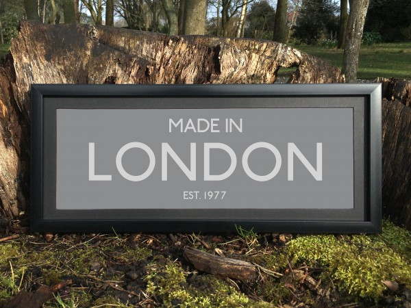 Made in London Print