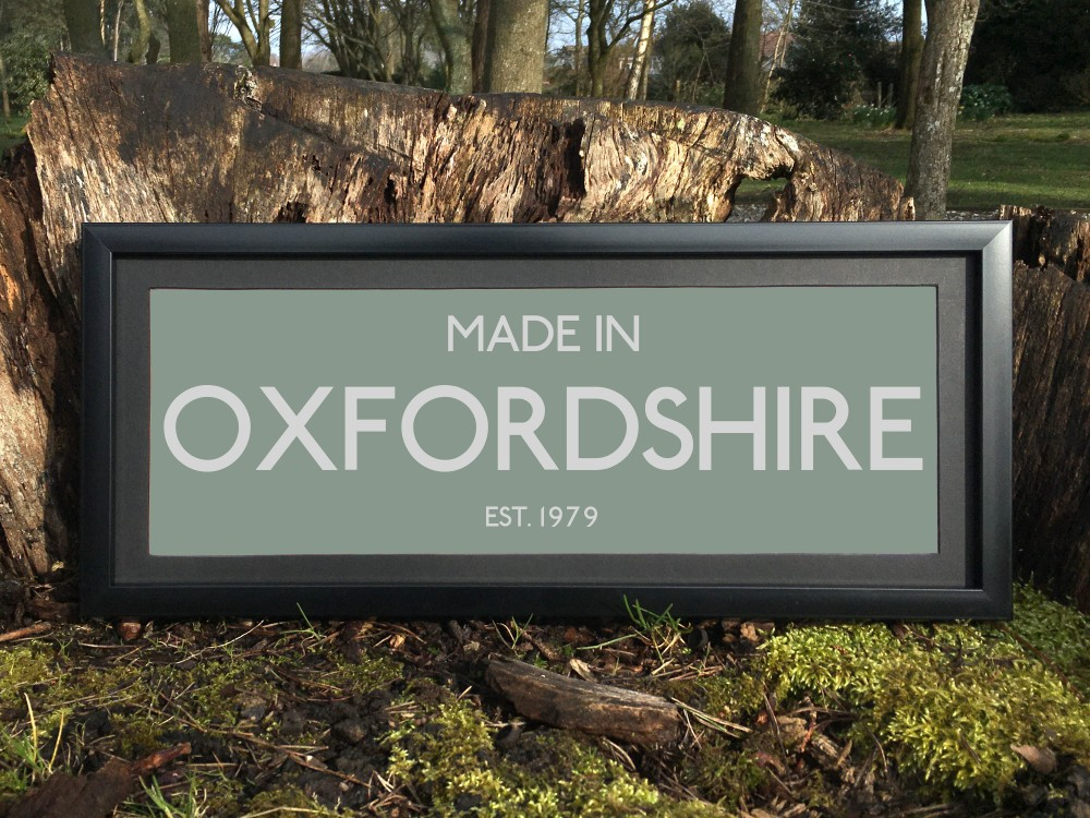 Made in Oxfordshire Print