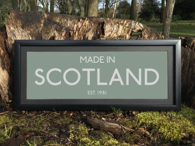 Made in Scotland Print