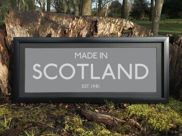 Made in Scotland Print