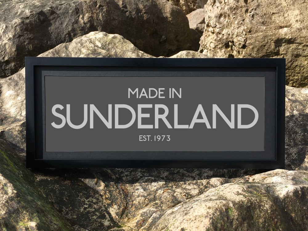 Personalised 'Made in' Print