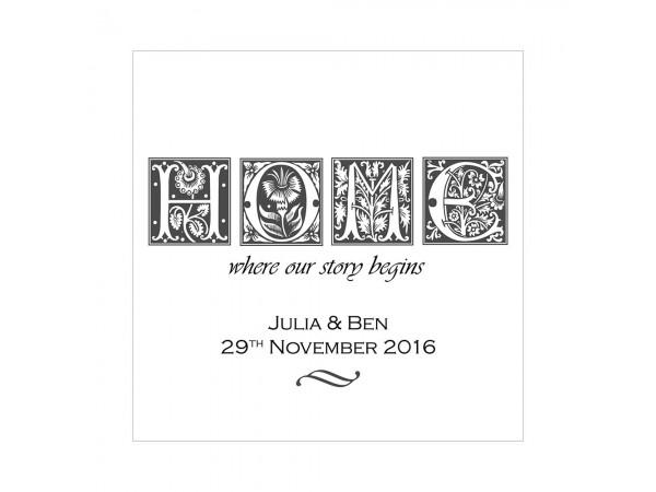 Personalised Home Print