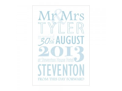 Wedding Celebration Print