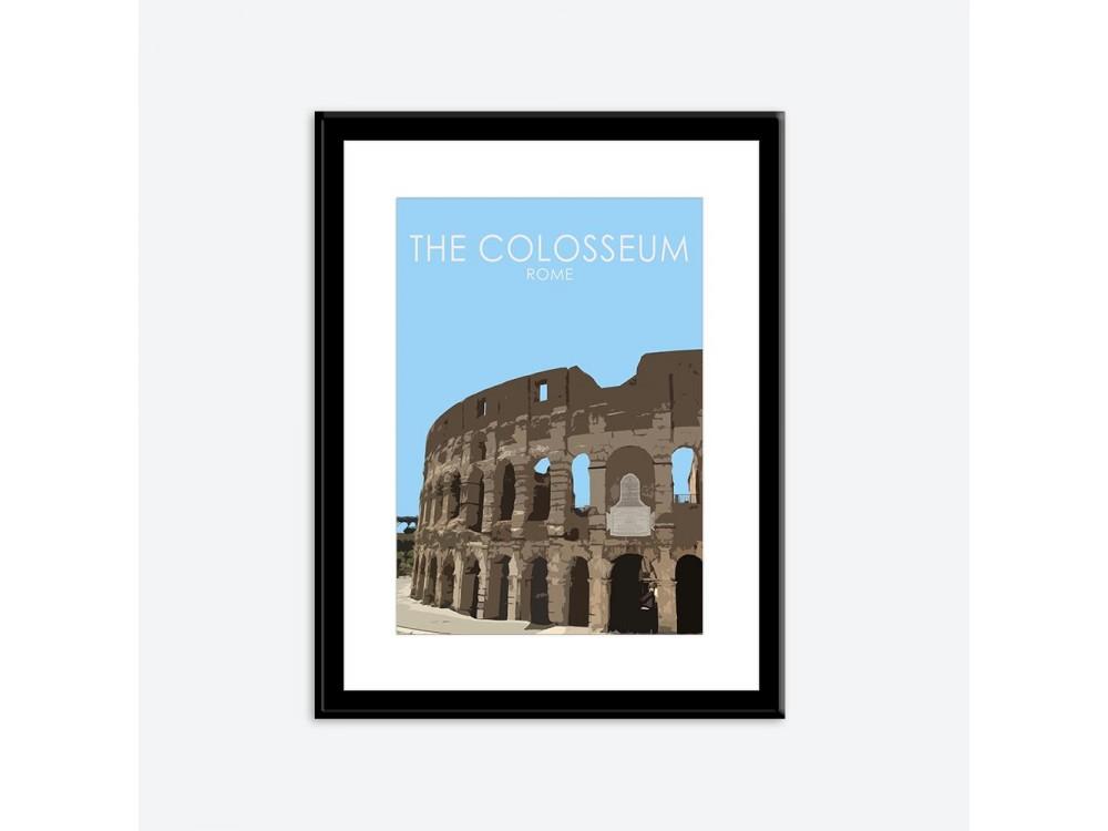 Colosseum Poster Print