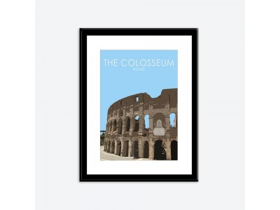 Colosseum Poster Print