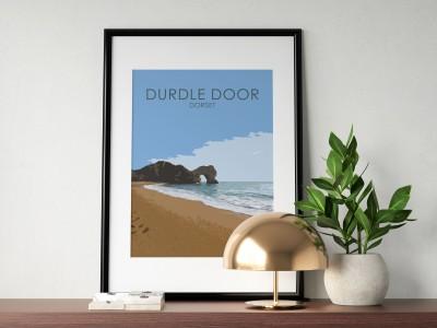 Durdle Door Poster Print