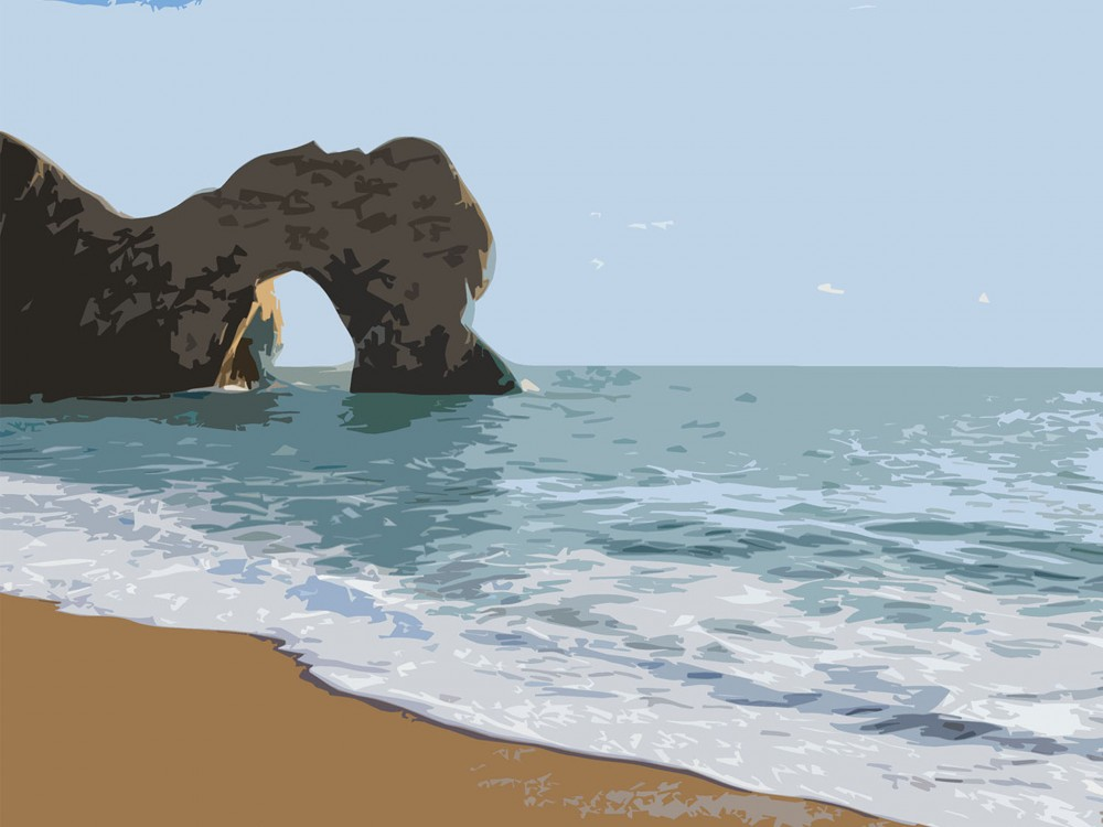 Durdle Door Poster Print