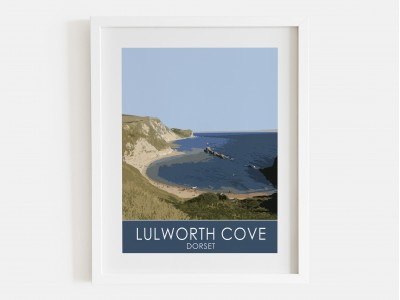 Lulworth Cove Print