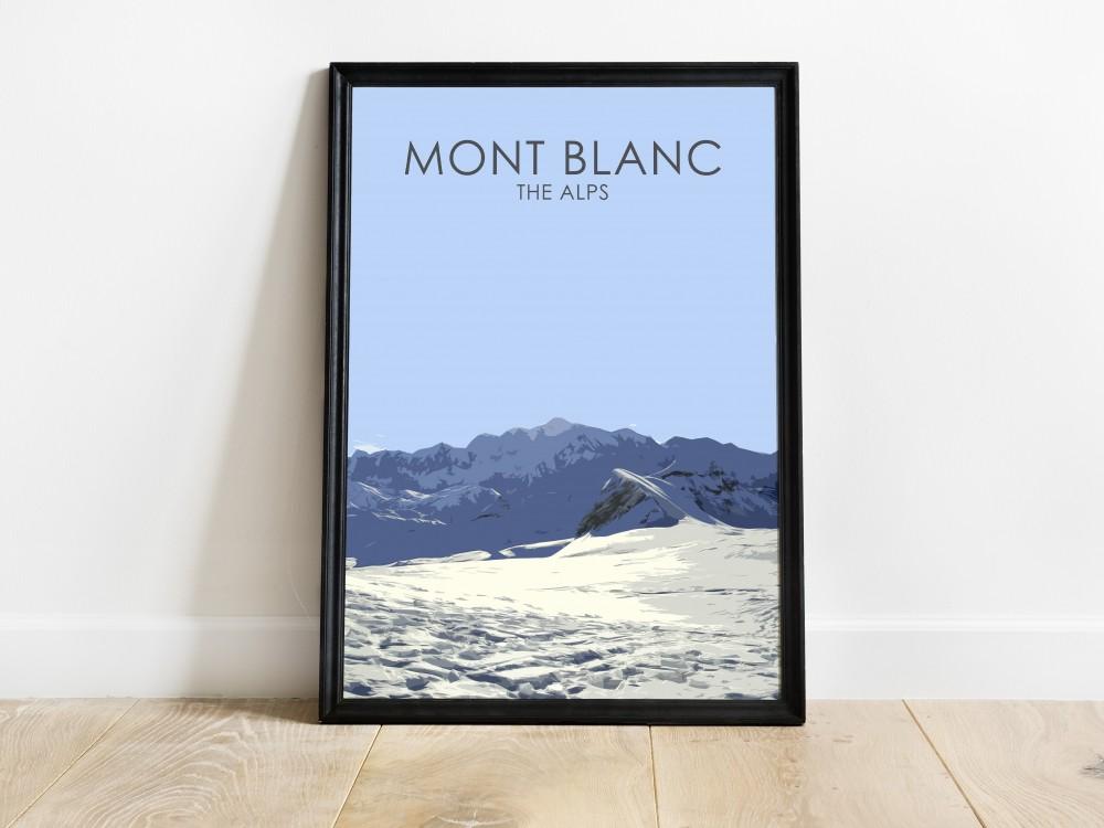 Mont Blanc Poster Print