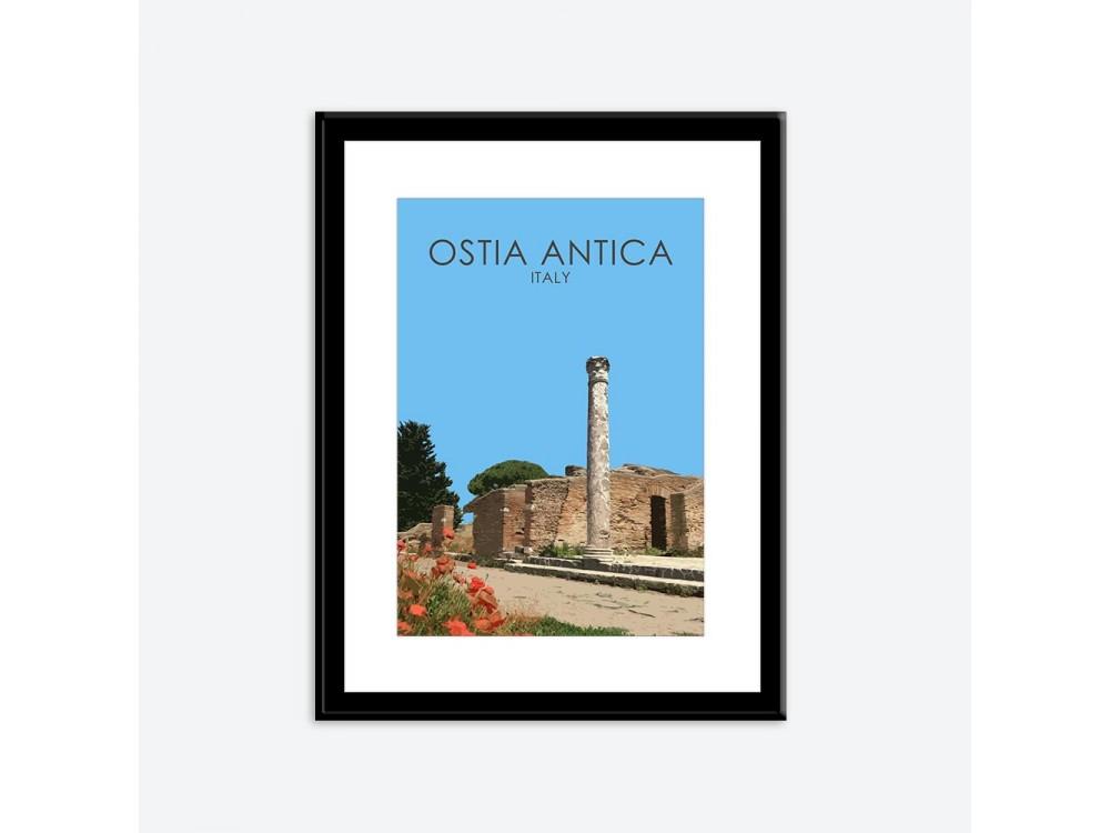 Ostia Antica Poster Print