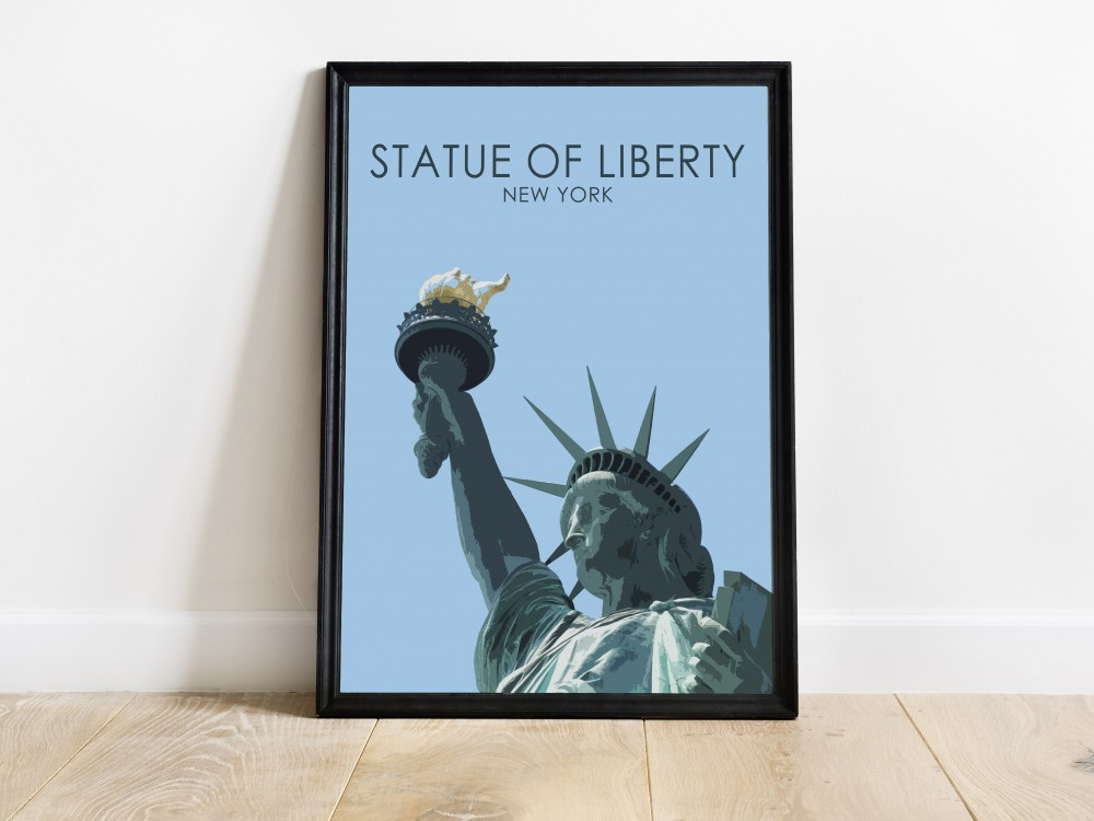 Statue of Liberty Poster Print