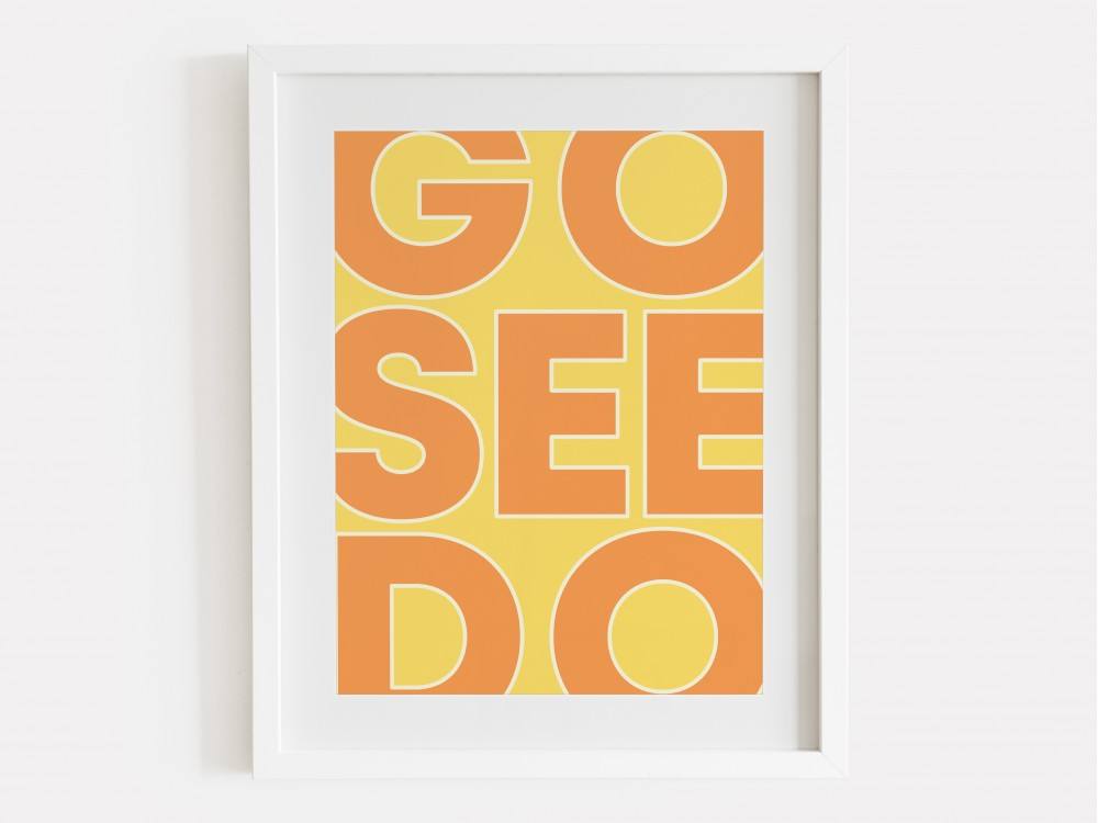 Go See Do Print - Citrus
