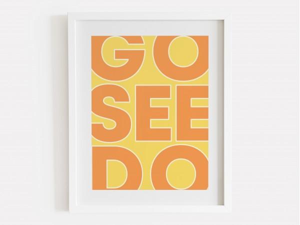 Go See Do Print - Citrus