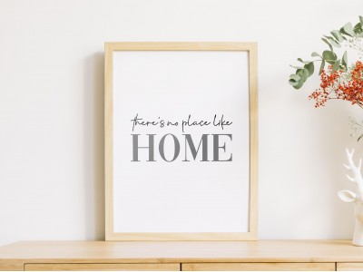 There's No Place Like Home Poster Print