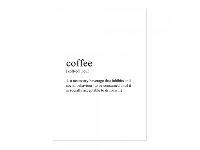Coffee Poster Print