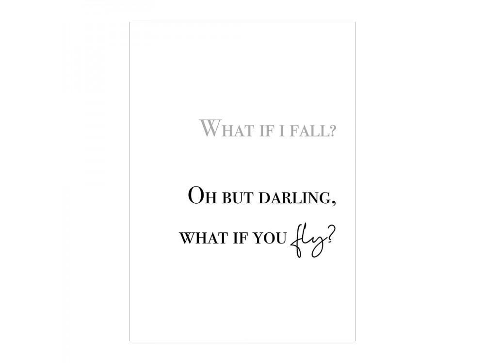What If I Fall Print